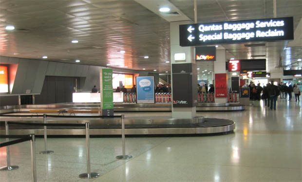An unconfirmed picture of Melbourne Airport